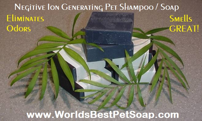 Pet Shampoo in a Bar!