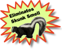 Works on Skunk Smell